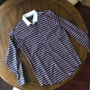 Black Label Ralph Lauren Dress Shirt Sz 16